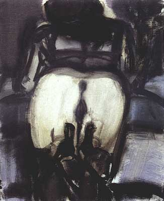 High Heeled Shoes by Marlene Dumas