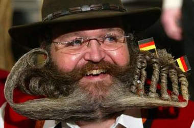 Beard and Moustache Championship Participant