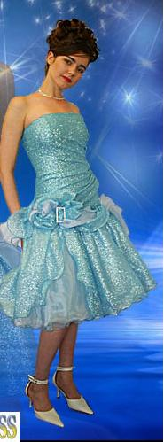 Prom Dress (I almost wish mine had actually been this bad)